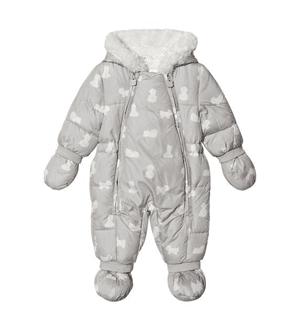 MAYORAL Bear Print Fleece Lined