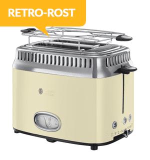 Russell Hobbs Retro 2 Slice Toaster Vintage