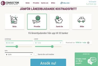 Consector Screenshot