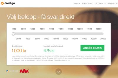 Credigo Screenshot