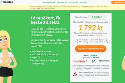 Loanstep Screenshot