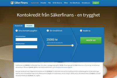 Säkerfinans Screenshot