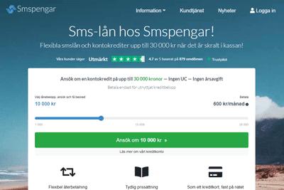 Smspengar Screenshot