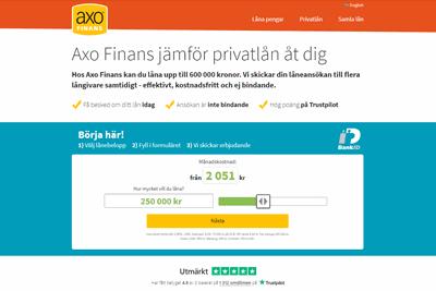 Axo Finans Screenshot